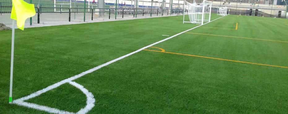 Empresa de construcción e instalación de campos de fútbol de